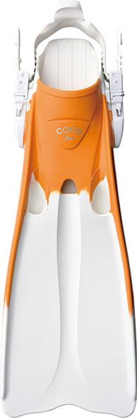 ホワイト × サンシャインオレンジ(White × SS Orange)